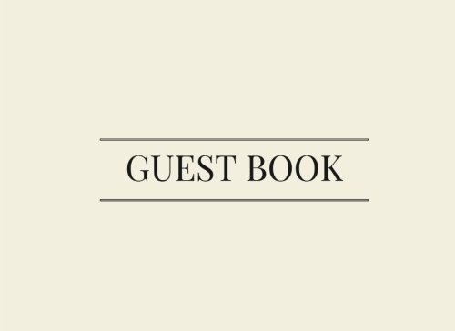 Guest Book: Off White, Alabaster, Airbnb, Guest House, Hotel, Bed and Breakfast, Lake House, Cabin por Jenn Foster