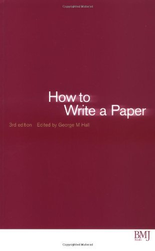 How to Write a Paper (HOW - How To) (English Edition)