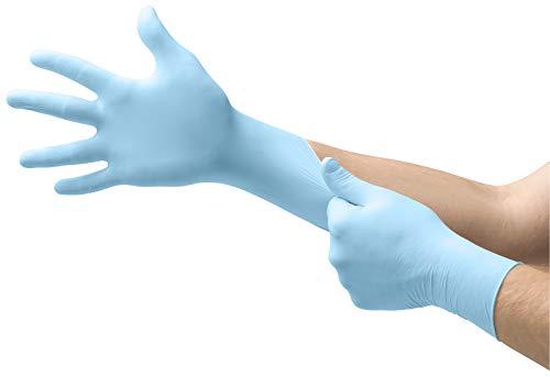 Guantes examen dental MICRO-TOUCH DENTA-GLOVE Azul