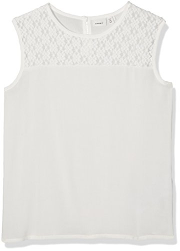 NAME IT Mädchen NITINGRI Tank NMT Top, Weiß (Bright White), 134 -