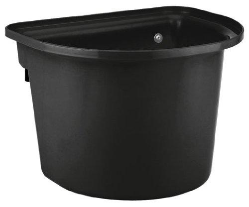 KERBL Mangeoire Amovible pour Cheval Noir 12 L