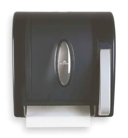 georgia-pacific-54338-push-paddle-hygenic-hardwound-roll-paper-towel-dispenser-translucent-smoke-by-