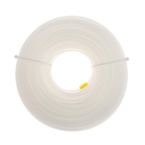 MagiDeal Débroussailleuse / Tronçonneuse / Régleur Nylon Câble 2.4mm X 90m Longue Ronde 2.4mm