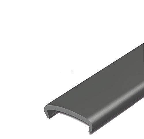 EUTRAS Softkante KSO6001 SCHWARZ 19 mm Stoßkante Schutzkante Kantenschutz: 3 m
