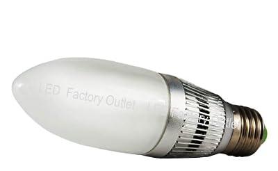 2 X Edison-Gewinde E27 4W LED Kerze Lampe, LED Kerzenlampe Glühbirne for Kronleuchter/Kandelaber,warmes Weiß 3000K,Energieeinsparung,Sonderangebote erhältlich