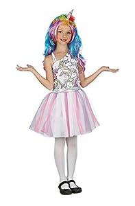 Bristol Novelty - Vestido de unicornio para niña, multicolor