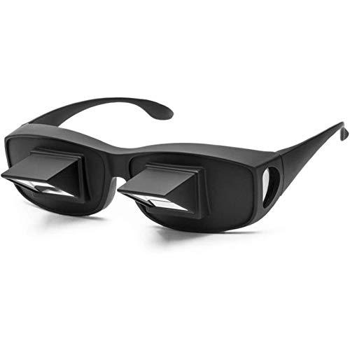 hook.s Lazy Prism Eye Glasses, Liegebett Horizontale Brille Horizontale Brille zum Fernsehen und Lesen