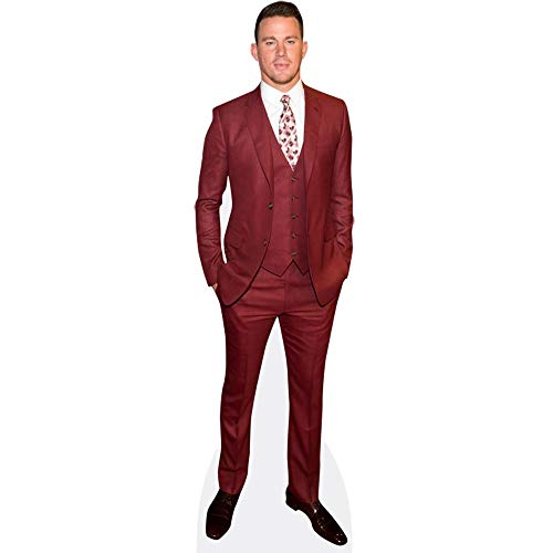 Celebrity Cutouts Channing Tatum (Red Suit) Pappaufsteller Mini