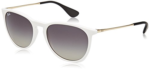 95c215da0 Ray-Ban 4171 Gafas de sol, Blanco/Oro/Gris Degradada (White/Gold/Grey  Gradient), 54 Unisex-Adulto
