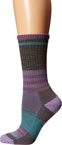 Darn Tough Womens Her Spur Boot Sock Light Cushion-SMALL (UK 2.5-5)-Taupe -