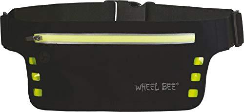 Schildkröt Fun Sports Wheel-Bee LED Night Runner Etui Porte-clés, 46 cm, Noir