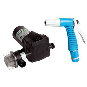 Whale Marine Whale Self Priming Saltwater Washdown Kit w/Universal Pressure Pump - 12V