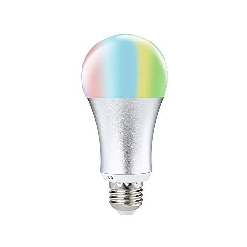 Lights & Lighting Led Bulbs & Tubes Sensible Claite Led Bulb Lamps E27 Rgbww Bluetooth Speaker Led Bulb Light 8w Color Changing Music Wireless Wireless Led Lamp Ac100-240v Sophisticated Technologies