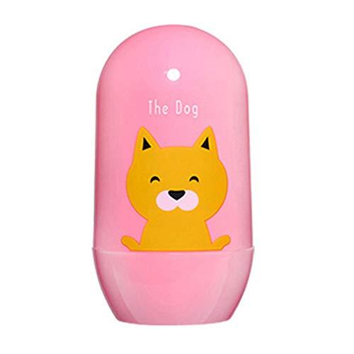 Newin Star 1 juego (4pcs) de uñas del bebé fijado con la caja del kit rosada del perro recién nacido podadoras de clavo del archivo del niño Pinzas tijera práctica Grooming