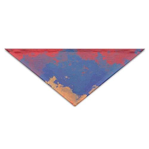 Dog Kostüm Diva - Art Armenia Flag Striped Dog Bandanas Schals Dreieck Lätzchen Schals Mode Basic Halstuch