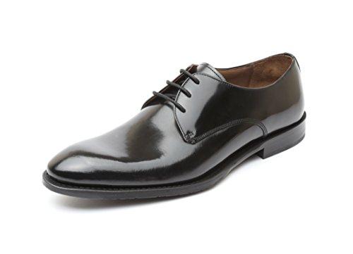 Gordon & Bros Herrenschuhe MIRCO 204-004 Herren Businessschuhe, Schnürhalbschuhe, Anzugschuhe, Derby Schuhe, Blake, Schwarz (black), EU Größe 44