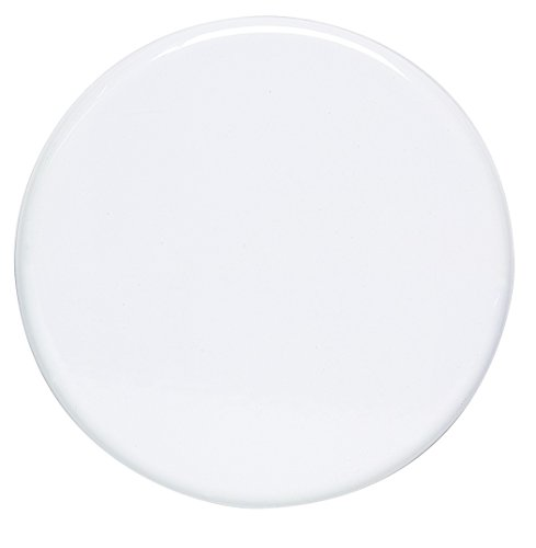 T.E.N. - Cache-Plaque émail 20 cm blanc*