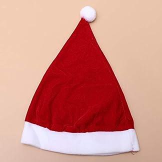 Amosfun Un lindo vestido de Navidad,un lindo disfraz de Navidad,un disfraz de la Sra.Claus,un vestido de la capa de sombrero.