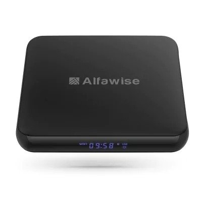 Alfawise S95 TV Box 1GB RAM   8GB ROM UK Plug with 4K eMMC Android 7 1 for TV