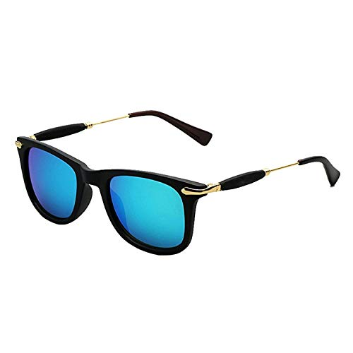 REX Sunglasses (Gift item) Men\'s & women\'s Premium Quality Blue Mercury Wayfarer Square UV400 Protection