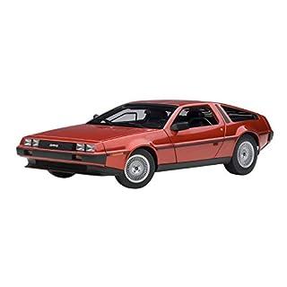 AUTOart–DMC–-Lorean dmc-12/Auto Miniatur-Collection, 79918, rot Metall