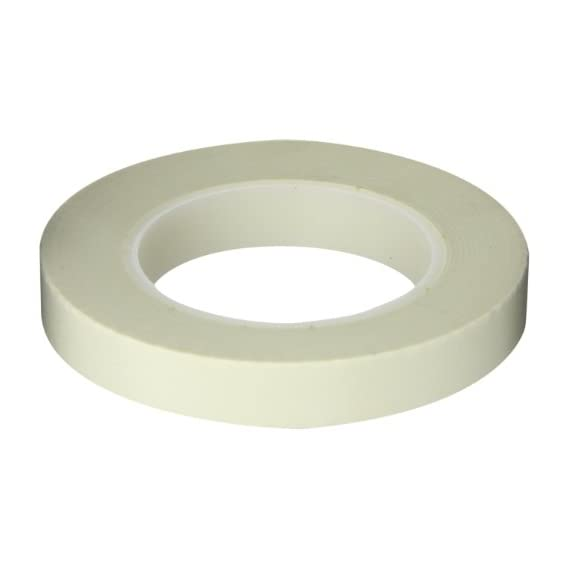 Maxi 458 Electrical Grade Glass Cloth Tape with Acrylic Adhesive, 7 mil Thick, 36 yds Length, 3/4 Width, White