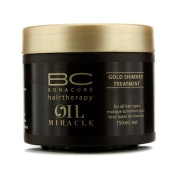 Schwarzkopf BC Oil Miracle Gold Shimmer Treatment (For All Hair Types) - 150ml/5oz by Schwarzkopf