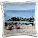 roni-chastain-photography-2-sun-worshippers-in-the-sand-16x16-inch-pillow-case