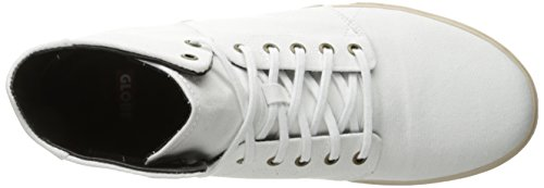 Globe Los Angered Toile Chaussure de Basket White-Off White