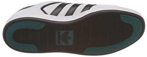 adidas - Varial Low, Scarpe da ginnastica Uomo Multicolore (Blanco / Negro / Verde (Ftwbla / Negbas / Verimp))