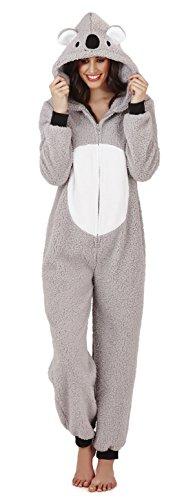 Pijama mono polar para mujer