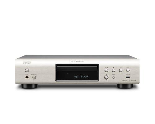 Denon DCD 720 AE CD-Player (Aluminium Frontblende, ECO-Standby, Burr Brown Wandler, USB mit iPod direkt) silber