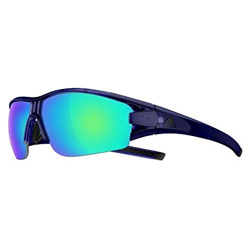Adidas Brille evil eye halfrim ad08 - 4500 blue shiny (Small)