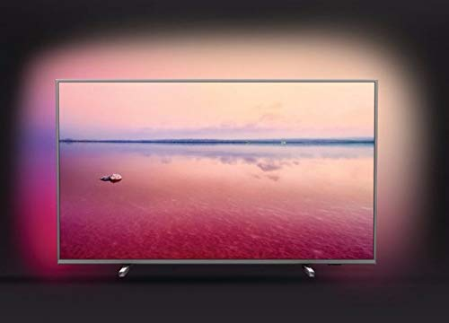 Philips Ambilight 50PUS6754/12 TV 50 inch LED Smart TV (4K UHD, HDR 10+, Dolby Vision, Dolby Atmos, Smart TV) mid silver