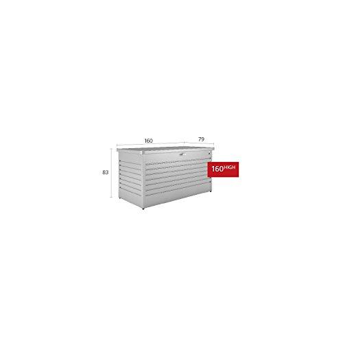 Biohort Freizeitbox, regenwasserdicht, 830L, 160x79x83cm - 2