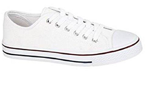 Spirit , Chaussures de ville à lacets pour fille Blanc - blanc