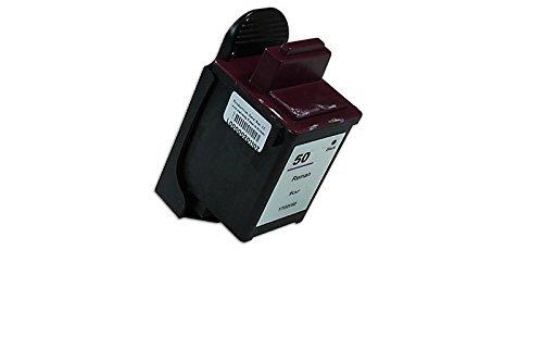 Inkadoo Tinte kompatibel zu Lexmark 17G0050, No 50, NO50 0017G0050E, 017G0050E, 17G0050E - Premium Drucker-Patrone Alternativ - Schwarz - 1.200 Seiten - 30 ml (17g0050 Tinte Schwarz)
