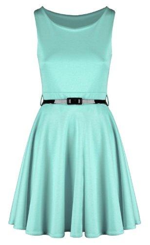Swagg Fashions -  Vestito  - Donna Grün - Emerald Green