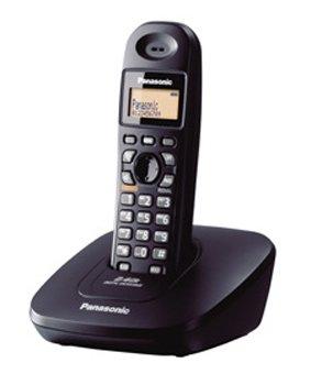 Panasonic KX-TG3615 Cordless Phone (Black)
