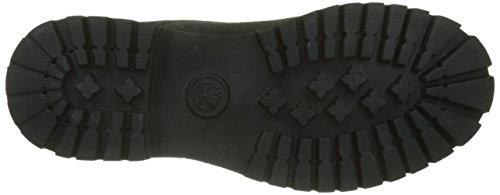 Timberland Herren 6 in Basic alburn Waterproof Klassische Stiefel Schwarz (Black Nubuck 001)