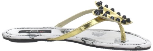 Iron Fist Distant Memory Flat Sandal 611750, Sandali infradito donna Bianco (Weiß (offwhite))