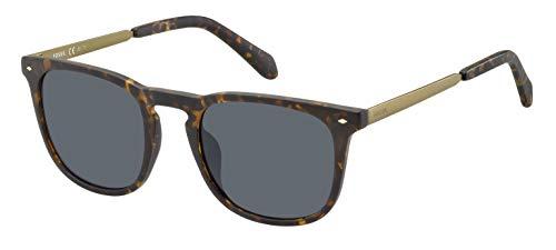 Fossil fos 3087/s occhiali da sole uomo, matt hvna 51