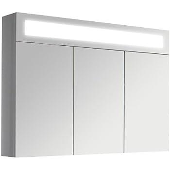 3d spiegelschrank wandspiegel badschrank inkl led for Amazon spiegelschrank