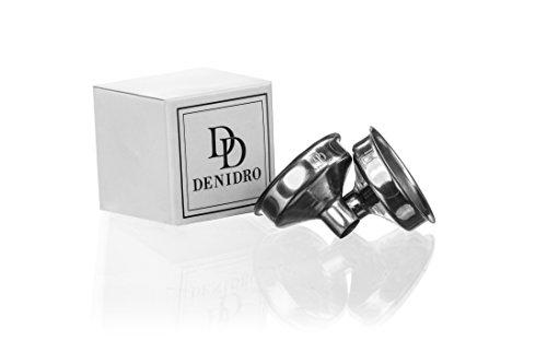 Premium Denidro Edelstahl Trichter | Flachmann Trichter | 2er Set | Fläschchen Trichter | einfaches befüllen deines Flachmann's | 100% Qualität (Trichter 8 Oz)