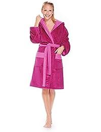 WEWO Fashion - Damen Badejacke mit Kapuze # 6113 - mit neuer Multifaser