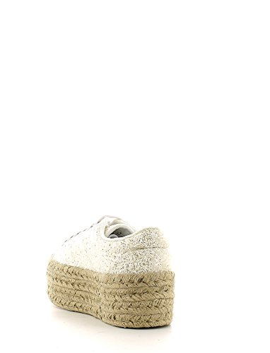 Sneaker bassa JC Play by Jeffrey Campbell Zomg in glitter bianco Bianco