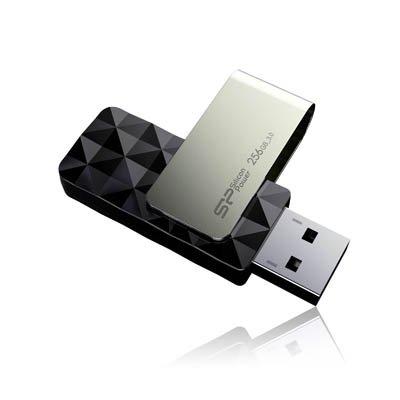 B30256GB USB 3.0(3.1Gen 1) Type Black, Silver USB Flash Drive-USB-Sticks (256GB, USB 3.0(3.1Gen 1), Type, Sleeve, 14.8g, Black, Silver) ()