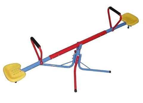 SportPlus Kinderwippe/Karusselwippe, Spielzeugsicherheitstest nach EN71, Modell 2017, SP-GAM-209 (Smoby Kletterturm)