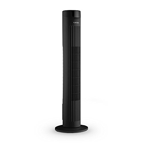 Klarstein Skyscraper 2G Stand Turm-Ventilator ohne Rotor mit Fernbedienung schwarz