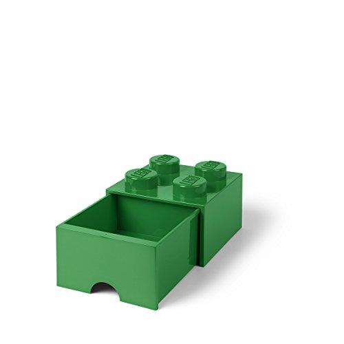 LEGO l4005g.00almacenamiento ladrillo 4con cajones verde